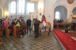 Niedziela Palmowa w parafii Nietrzanowo
