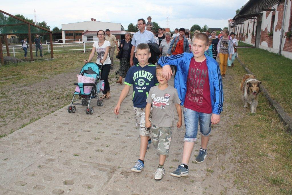 Piknik mieszkańców wsi Starkówiec Piątkowski