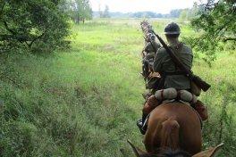 Ośmiokonny patrol 15. Pułku Ułanów Poznańskich