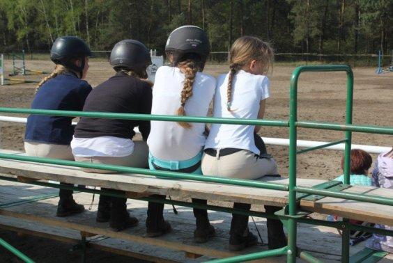Wewnętrzne Treningowe Zawody w Skokach przez Przeszkody 2015