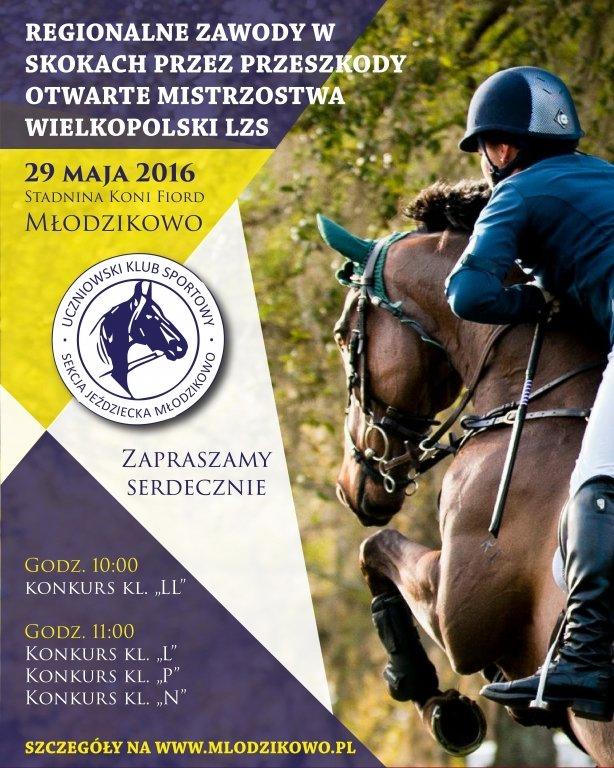 Regionalne Zawody w Skokach przez Przeszkody 29.05.2016